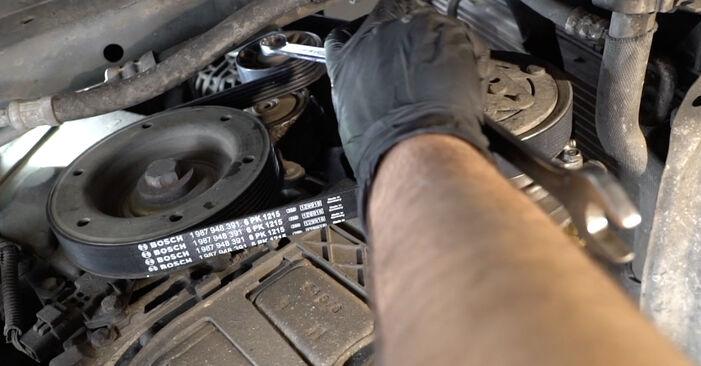 Så lång tid tar det att byta Multirem på Peugeot 307 SW 2008 – informativ PDF-manual