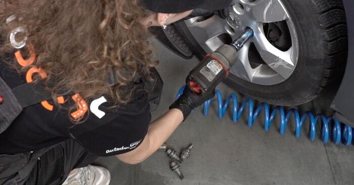 Смяна на Peugeot 307 SW 1.6 16V 2002 Свързваща щанга: безплатни наръчници за ремонт