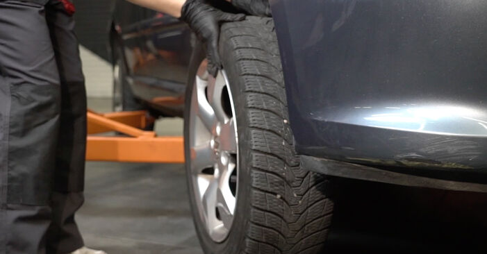 Peugeot 307 SW 1.6 16V 2002 Brzdový kotouč výmena: bezplatné návody z našej dielne
