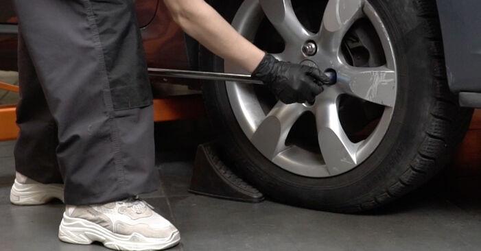 Bremsbeläge Peugeot 307 SW 2.0 HDI 110 2002 wechseln: Kostenlose Reparaturhandbücher