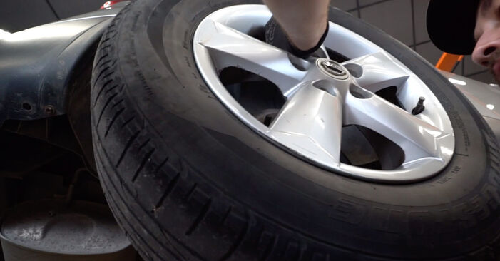 How to remove NISSAN QASHQAI 1.6 dCi 2010 Springs - online easy-to-follow instructions