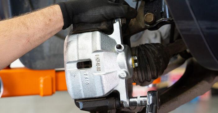 Nissan Qashqai j10 2.0 dCi Allrad 2008 Remklauw remplaceren: kosteloze garagehandleidingen