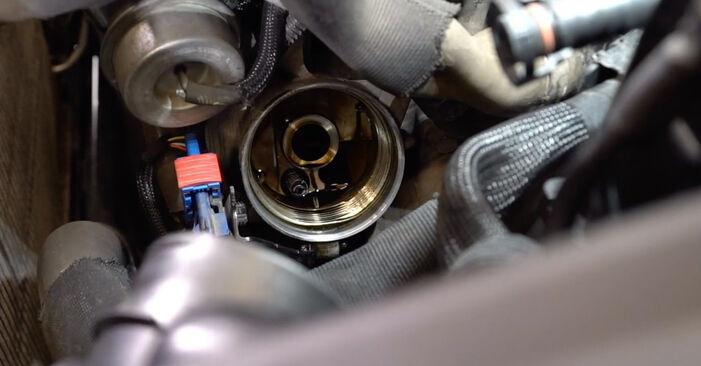 308 I Hatchback (4A_, 4C_) 1.6 HDi 2008 Oil Filter DIY replacement workshop manual