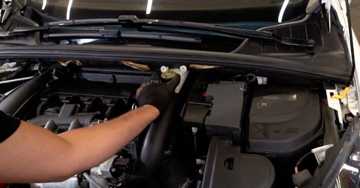 Wie Luftfilter Peugeot 308 I 1.6 HDi 2007 tauschen - Kostenlose PDF- und Videoanleitungen
