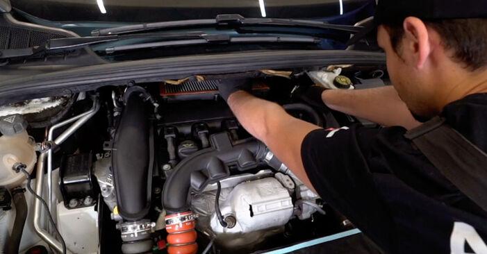 Luftfilter beim PEUGEOT 308 1.4 16V 2014 selber erneuern - DIY-Manual