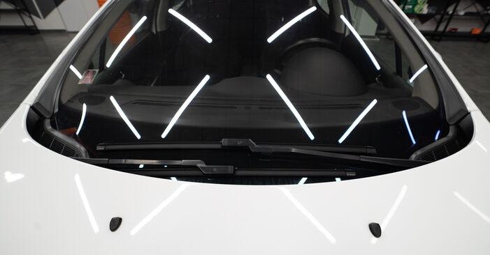 Wie problematisch ist es, selber zu reparieren: Scheibenwischer beim Peugeot 308 I 2.0 HDi 2013 auswechseln – Downloaden Sie sich bebilderte Tutorials
