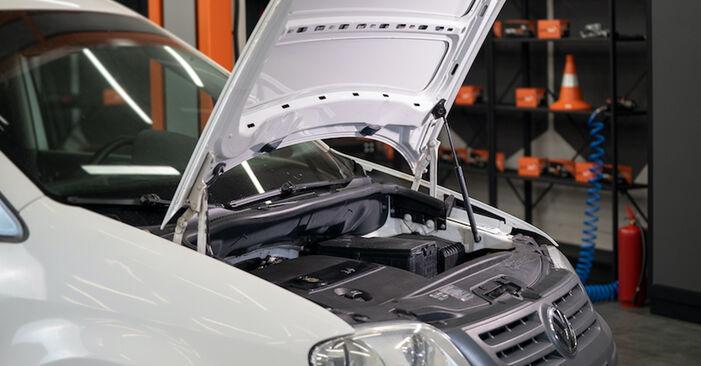 Come cambiare Filtro Olio su VW Caddy 3 2004 - manuali PDF e video gratuiti