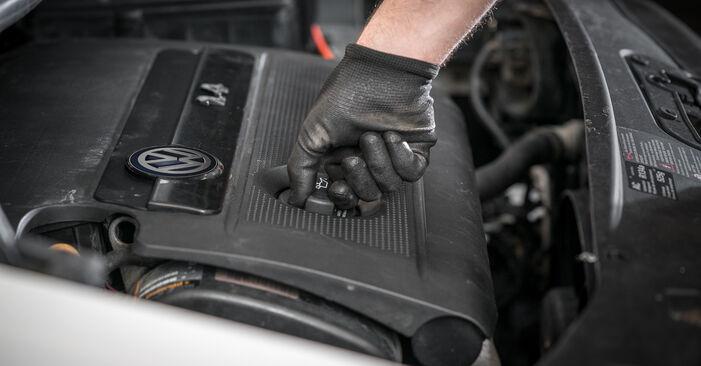 Jak vyměnit Olejovy filtr na VW Caddy 3 2004 - bezplatné PDF a video návody