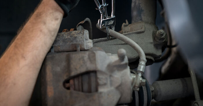 Changing of Brake Calipers on VW Caddy 3 2012 won't be an issue if you follow this illustrated step-by-step guide