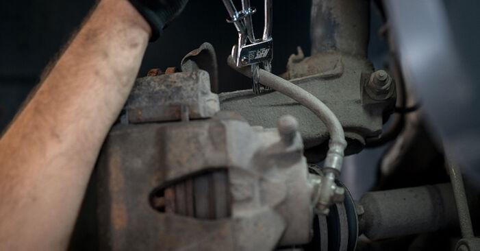 Cât durează înlocuirea: Etrier frana la VW Caddy 3 2012 - manualul informativ în format PDF