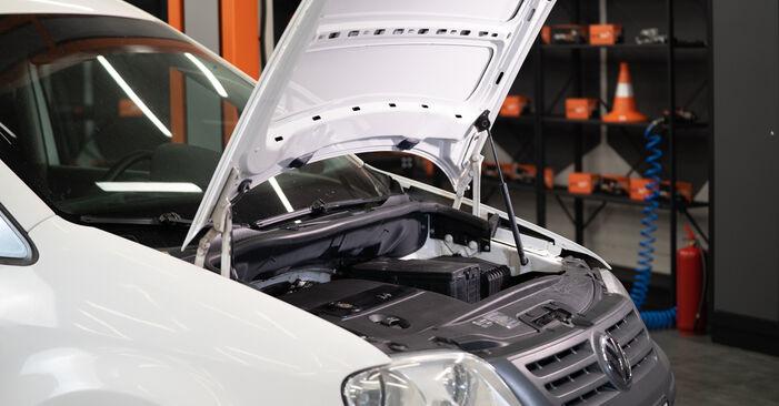 Wie Bremssattel VW Caddy 3 kasten 1.9 TDI 2004 tauschen - Kostenlose PDF- und Videoanleitungen