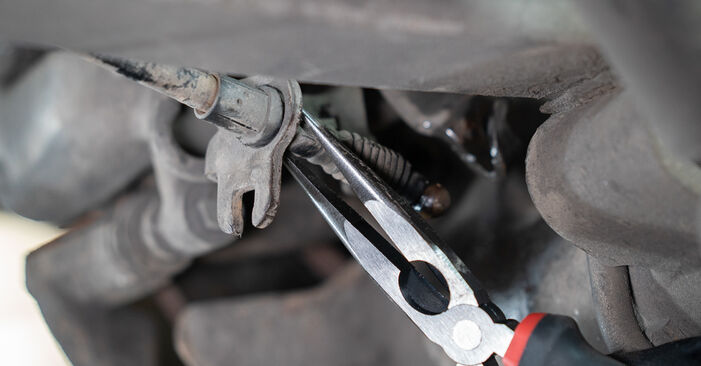 Changing of Brake Calipers on VW Caddy 3 Van 2012 won't be an issue if you follow this illustrated step-by-step guide