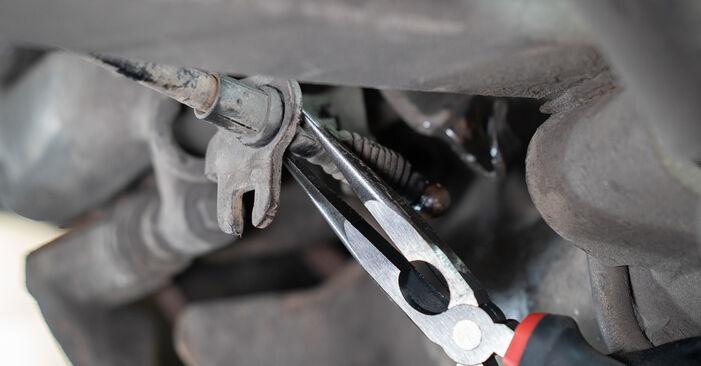 Bremssattel Ihres VW Caddy 3 kasten 1.9 TDI 2012 selbst Wechsel - Gratis Tutorial