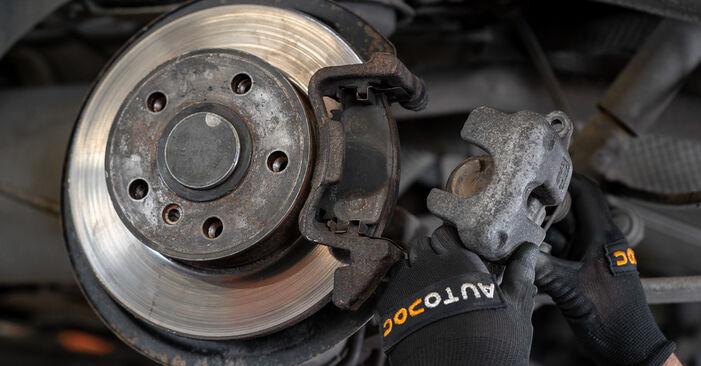 Zweckdienliche Tipps zum Austausch von Bremssattel beim VW Caddy III Kastenwagen (2KA, 2KH, 2CA, 2CH) 2.0 SDI 2006