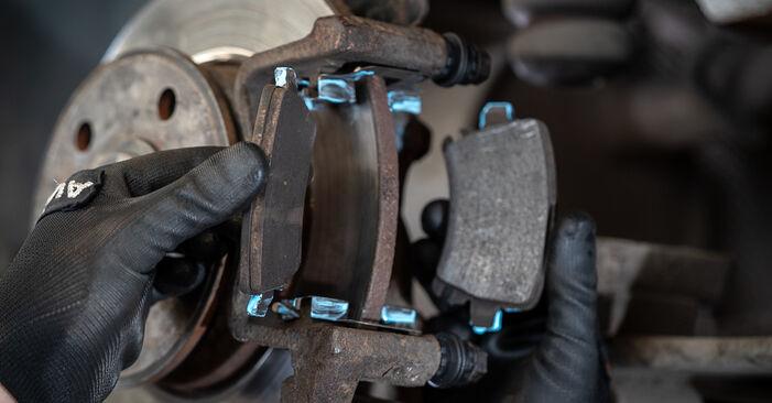 Bremssattel VW Caddy 3 kasten 2.0 SDI 2006 wechseln: Kostenlose Reparaturhandbücher