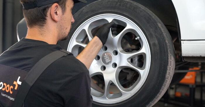 Bremssattel am VW Caddy III Kastenwagen (2KA, 2KH, 2CA, 2CH) 2.0 EcoFuel 2009 wechseln – Laden Sie sich PDF-Handbücher und Videoanleitungen herunter