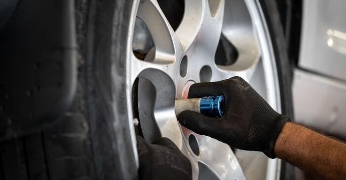 Svépomocná výměna Lozisko kola na autě VW Caddy 3 Van 2014 1.9 TDI