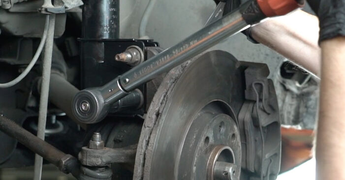 Changing of Control Arm on Peugeot 307 SW 2008 won't be an issue if you follow this illustrated step-by-step guide