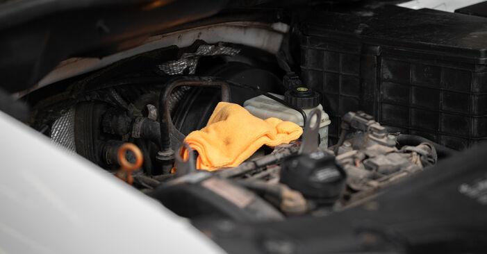Manualul de atelier pentru înlocuirea de sine stătătoare Caddy III Break (2KB, 2KJ, 2CB, 2CJ) 2.0 TDI 16V 2015 Filtru aer