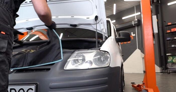 Caddy III Combi (2KB, 2KJ, 2CB, 2CJ) 2.0 TDI 16V 2015 Zapalovaci svicka svépomocná výměna díky návodu z naší dílny