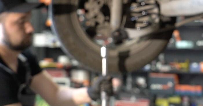 Wie schwer ist es, selbst zu reparieren: Federn Peugeot 307 SW 1.6 HDI 90 2006 Tausch - Downloaden Sie sich illustrierte Anleitungen