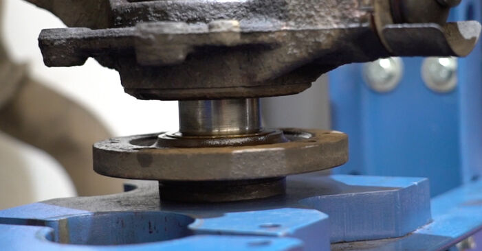 307 SW (3H) 2.0 HDi 135 2011 Wheel Bearing DIY replacement workshop manual