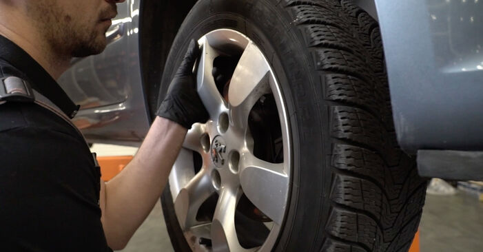 How to remove PEUGEOT 307 2.0 HDi 135 2004 Wheel Bearing - online easy-to-follow instructions