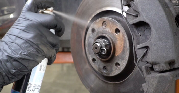How to replace Wheel Bearing on PEUGEOT 307 SW (3H) 2005: download PDF manuals and video instructions
