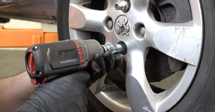 Changing of Wheel Bearing on Peugeot 307 SW 2008 won't be an issue if you follow this illustrated step-by-step guide