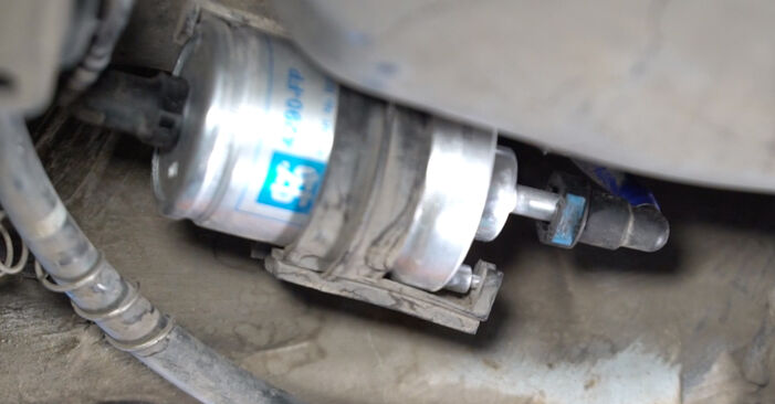 Replacing Fuel Filter on Polo 9n 2011 1.4 16V by yourself