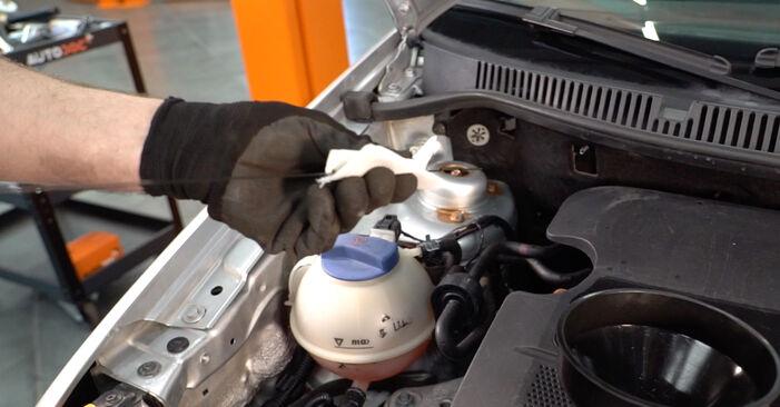 Schimbați Filtru ulei la VW POLO (9N_) 1.2 2004 de unul singur