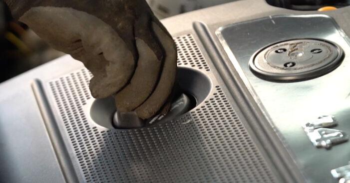 Как да демонтираме VW POLO 1.9 TDI 2005 Маслен филтър - онлайн лесни за следване инструкции