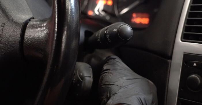 Peugeot 307 SW 2010 1.6 HDI 110 Spyruoklės keitimas savarankiškai