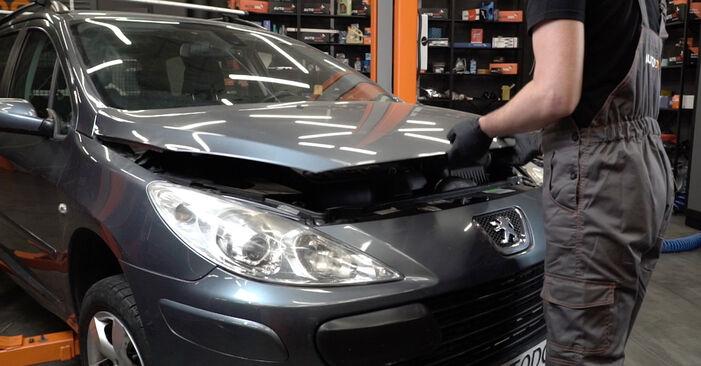 Hoe Peugeot 307 SW 2000 Waterpomp + Distributieriem Set vervangen – kosteloze pdf-handleidingen en tutorials