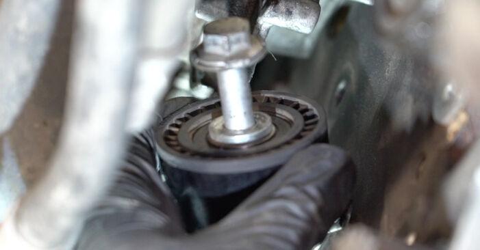 PEUGEOT 307 2007 Waterpomp + Distributieriem Set stap voor stap instructies voor vervanging