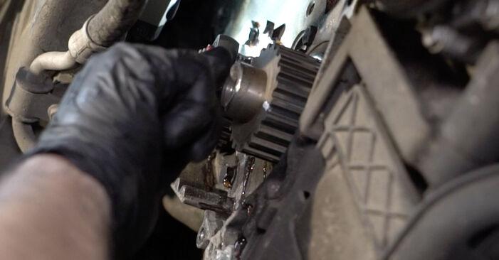 Hur byta Vattenpumpar + Kamremssats på Peugeot 307 SW 2000 – gratis PDF- och videomanualer