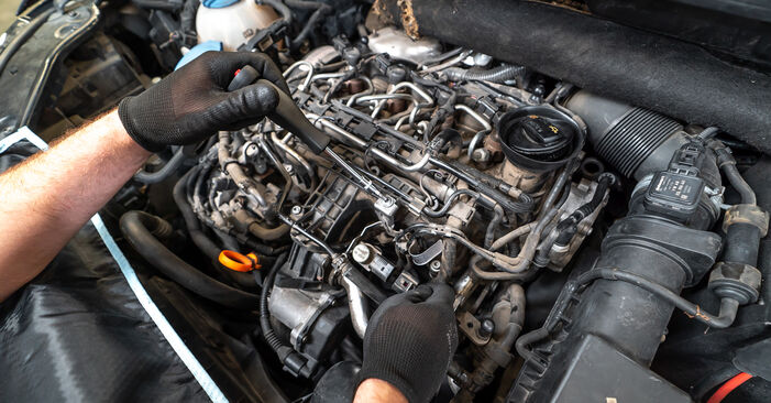 Need to know how to renew Oil Filter on VW TOURAN ? This free workshop manual will help you to do it yourself