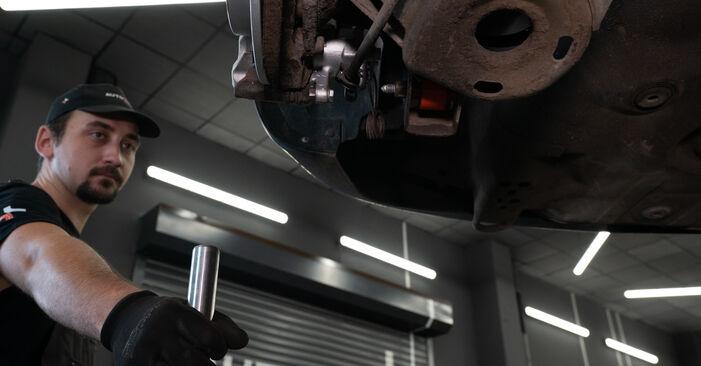 AUDI A3 2003 Amortisseurs manuel de remplacement étape par étape