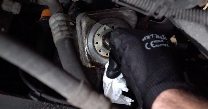 Ölfilter Ihres Audi A3 8l1 1.6 1996 selbst Wechsel - Gratis Tutorial