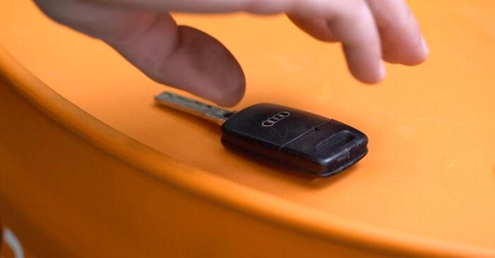 Stap voor stap tips om Audi A3 8l1 2001 1.8 Bougies zelf te wisselen