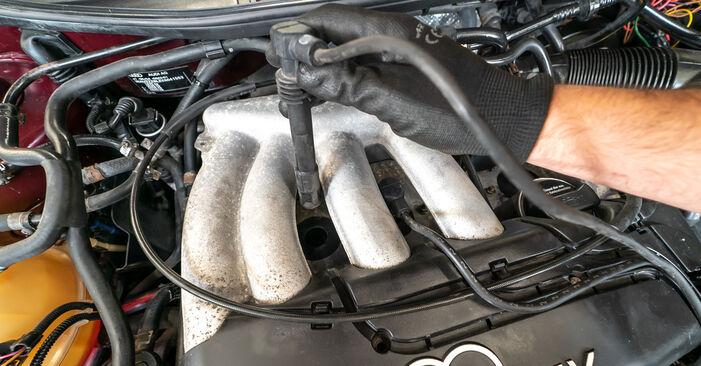 Bougies AUDI A3 Hatchback (8L1) S3 1.8 quattro 1999 zelf verwisselen