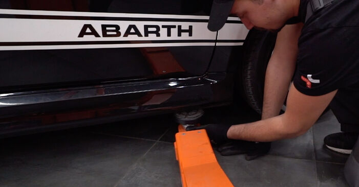 How to change Shock Absorber on Abarth 595 2008 - free PDF and video manuals