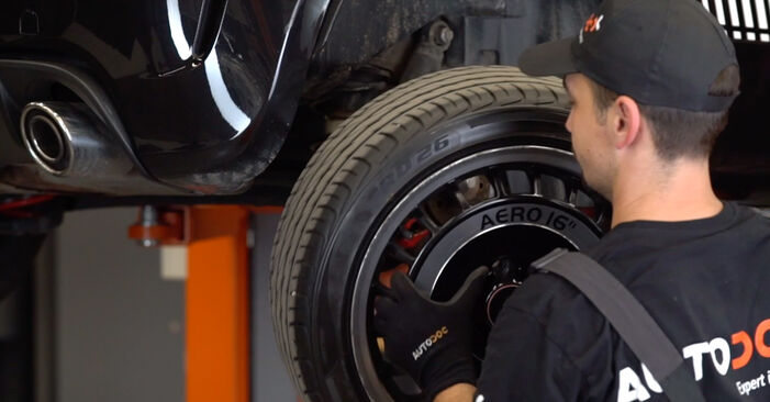 How to remove ABARTH 500 / 595 1.4 (312.AXZ11) 2012 Shock Absorber - online easy-to-follow instructions