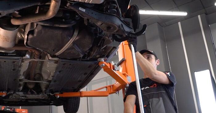 VW GOLF 2003 Amort samm-sammulised asendamise juhend
