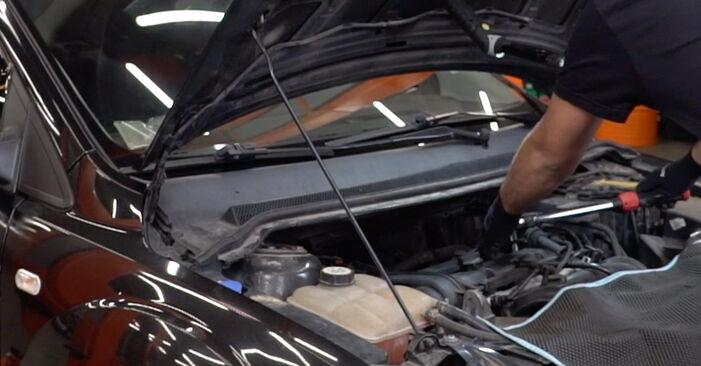 Wieviel Zeit nimmt der Austausch in Anspruch: Zündkerzen beim Ford Focus mk2 Limousine 2012 - Ausführliche PDF-Anleitung