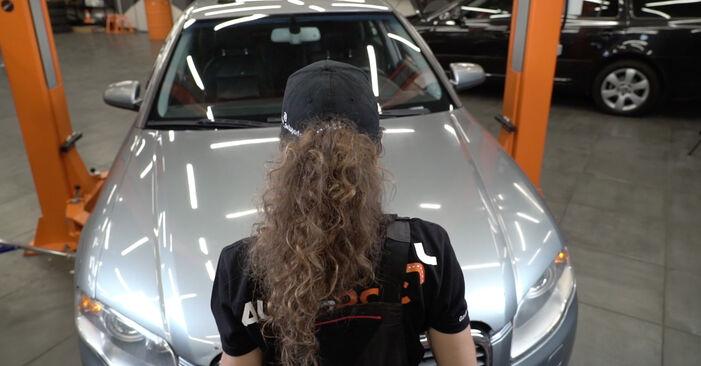 Luftfilter Ihres Audi A4 B7 Limousine 3.0 TDI quattro 2007 selbst Wechsel - Gratis Tutorial