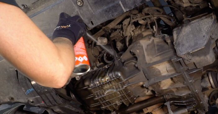 How to change Oil Filter on FORD Focus II Saloon (DB_, FCH, DH) 2007 - tips and tricks