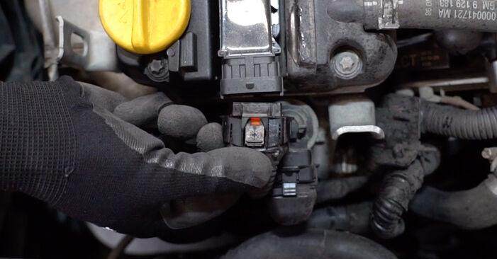 Kako zamenjati Vzigalna svecka na Opel Astra g f48 1998 - brezplačni PDF in video priročniki