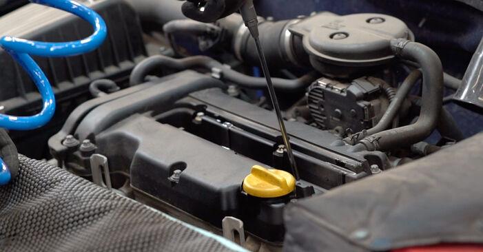 Kako težko to naredite sami: Vzigalna svecka zamenjava na Opel Astra g f48 2.0 DI (F08, F48) 2004 - prenesite slikovni vodnik
