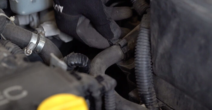 How to remove OPEL ASTRA 1.7 DTI 16V (F08, F48) 2002 Oil Filter - online easy-to-follow instructions